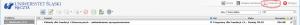 """Przejście doustawień webmaila roundcube - wszelkich ustawień dokonuje się poprzez kliknięcie naekranie skrzynki odbiorczej wikonkę """"Ustawienia"""""""